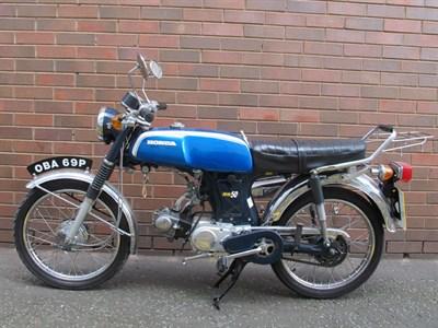 Lot 12-1975 Honda SS50