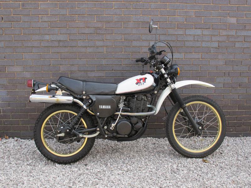Lot 38-1980 Yamaha XT500