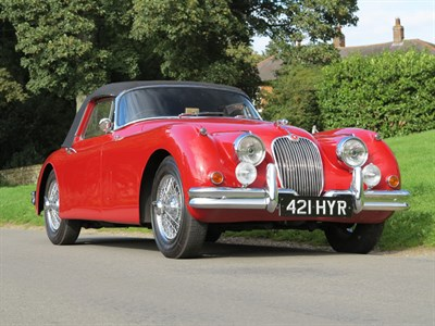 Lot 55-1959 Jaguar XK150 SE 3.4 Litre Drophead Coupe