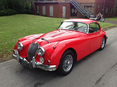 Lot 14-1959 Jaguar XK150 S 3.8 Litre Fixed Head Coupe