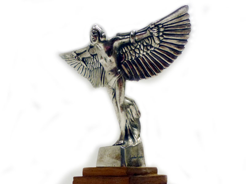 Lot 16-An Icarus Mascot, by Frederick Gordon Crosby, for Bentley Motors, 1920s