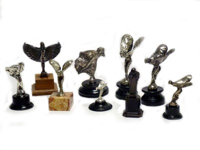 Lot 31-A Collection of Rolls-Royce Mascots and Ephemera  *