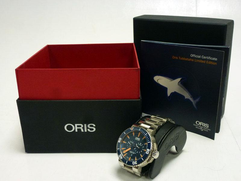 Lot 56-Oris 'Tubbataha' Limited Edition Wristwatch *