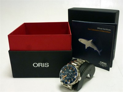 Lot 56-Oris 'Tubbataha' Limited Edition Wristwatch *