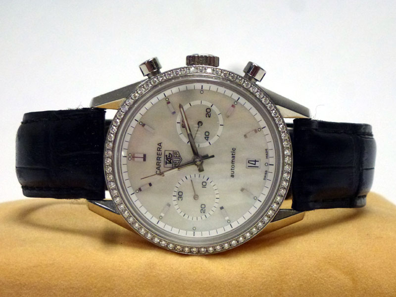 Lot 53-Tag Heuer 'Carrera' Gentleman's Wristwatch *