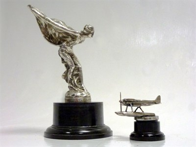 Lot 26-Two Rolls-Royce Mascots