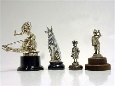 Lot 19-Four Car Mascots