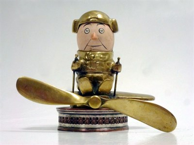 Lot 25-A Rare 'Aviator' Accessory Mascot by John Hassall