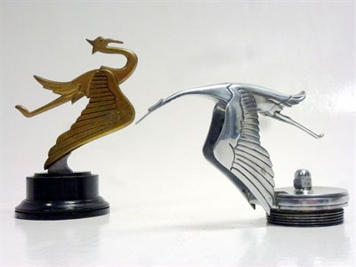 Lot 32-Two Hispano-Suiza Mascots
