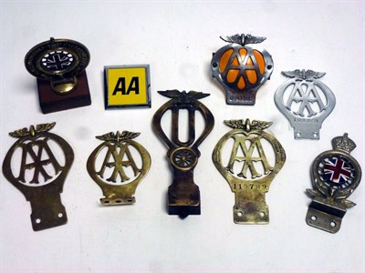 Lot 15-A Small Collection of Car Club Badges