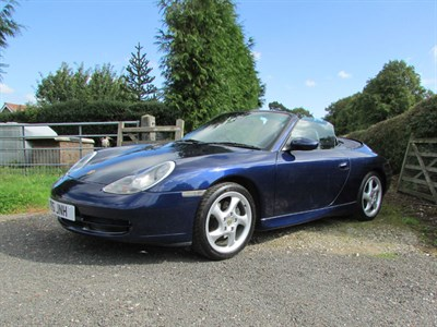 Lot 27-2001 Porsche 911 Carrera Cabriolet