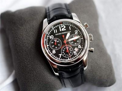 Lot 57-Girard-Perregaux Rallye Monte Carlo Historique Wristwatch *