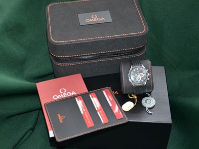 Lot 49-Omega Speedmaster Michael Schumacher 'Legend Edition' Wristwatch *