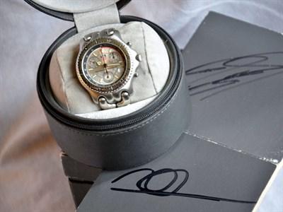 Lot 54-Tag Heuer 'McLaren' Championship Chronograph Wristwatch *