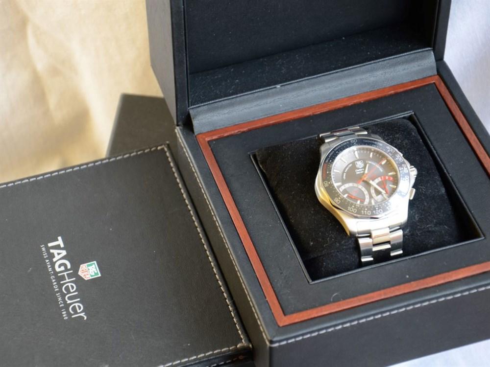 Lot 55-Lewis Hamilton, McLaren, Tag Heuer Chronograph Wristwatch *