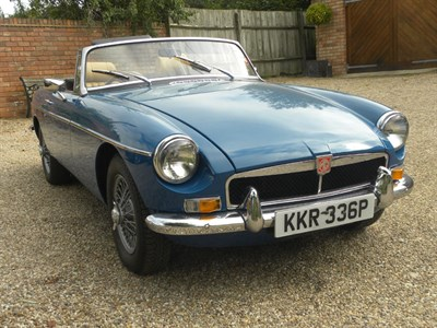 Lot 88-1975 MG B Roadster