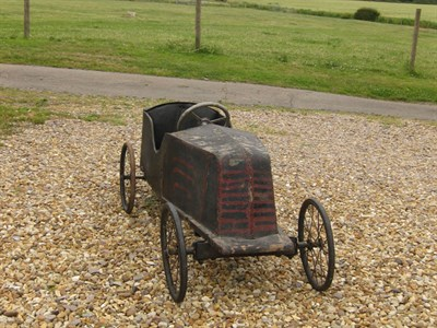 Lot 12-A Renault Pedal Car, c1920s **