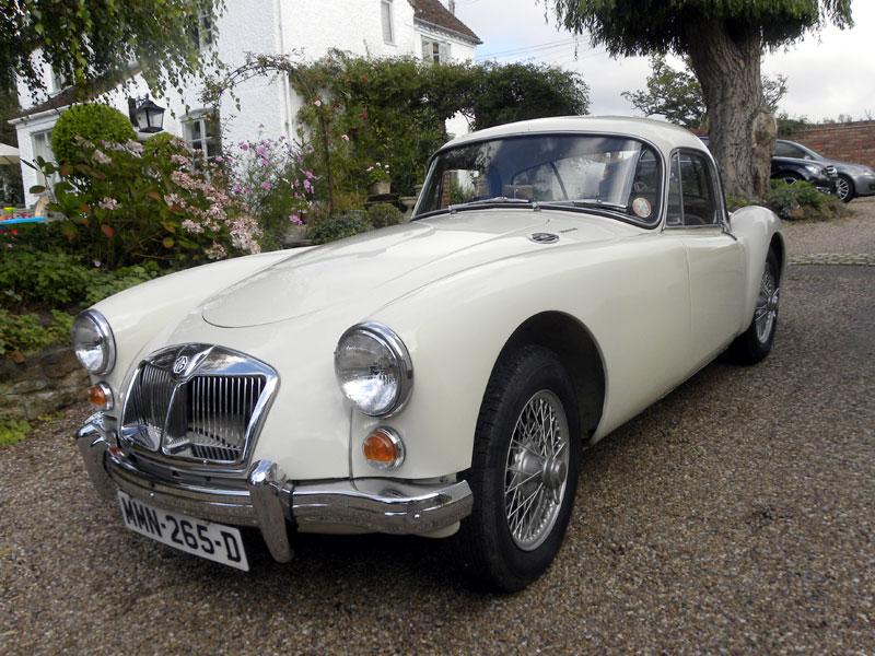 Lot 28-1961 MG A 1600 Coupe