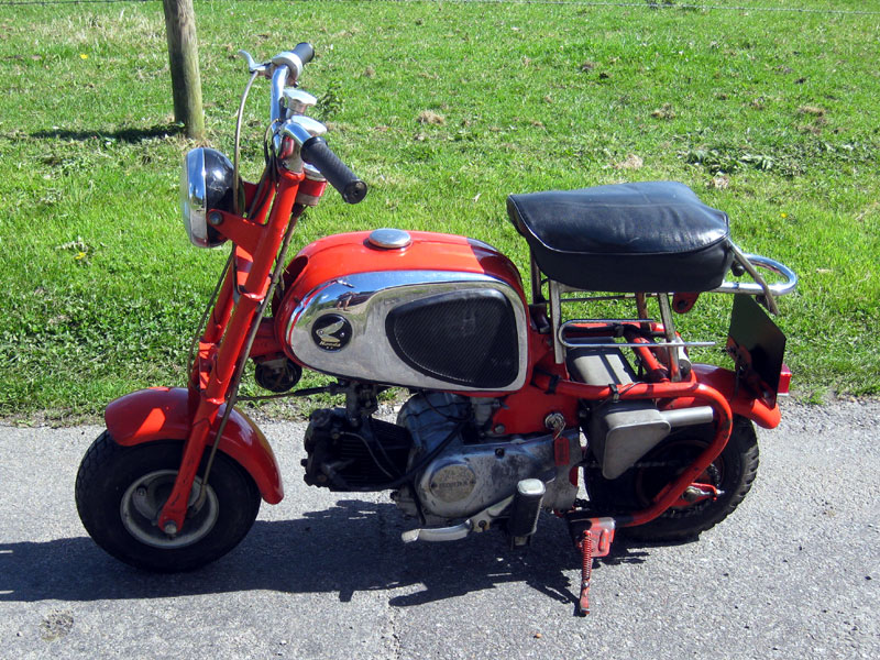 Lot 14-Honda Monkey Bike CZ100 / Z50 **