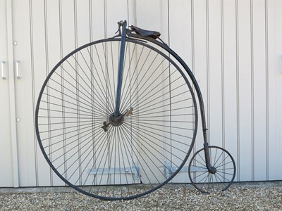 Lot 1-An Ordinary 'Penny Farthing' Bicycle **