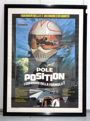 Lot 9-Two Large Framed and Glazed Movie Posters **