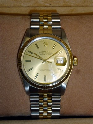 Lot 58-Gentleman's Rolex Datejust Wristwatch *