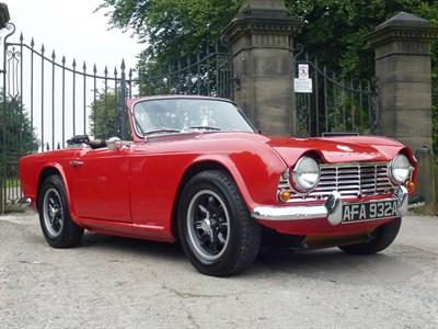 Lot 50-1963 Triumph TR4