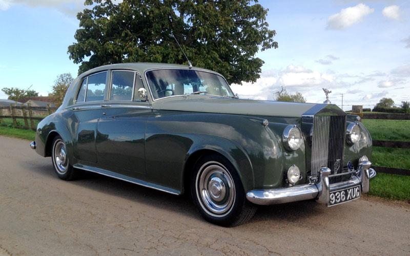 Lot 91-1956 Rolls-Royce Silver Cloud