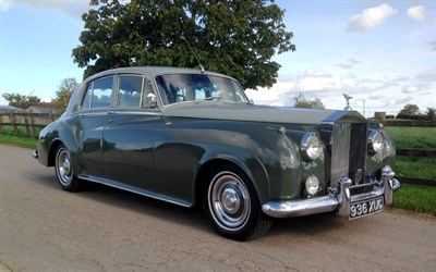 Lot 91-1956 Rolls-Royce Silver Cloud