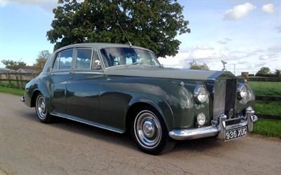 Lot 91 - 1956 Rolls-Royce Silver Cloud