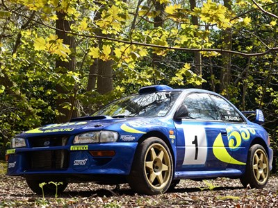 Lot 34-1996 Subaru Impreza WRC 97
