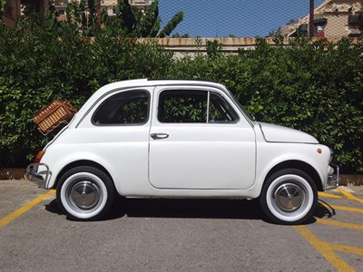 Lot 37-1972 Fiat 500 L