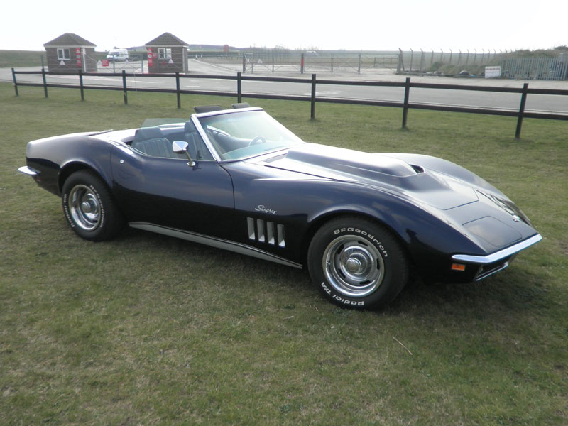 Lot 35-1969 Chevrolet Corvette Stingray Convertible