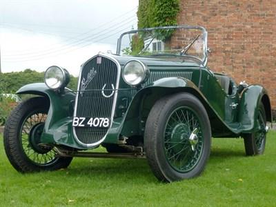 Lot 31-1935 Fiat 508 S Balilla