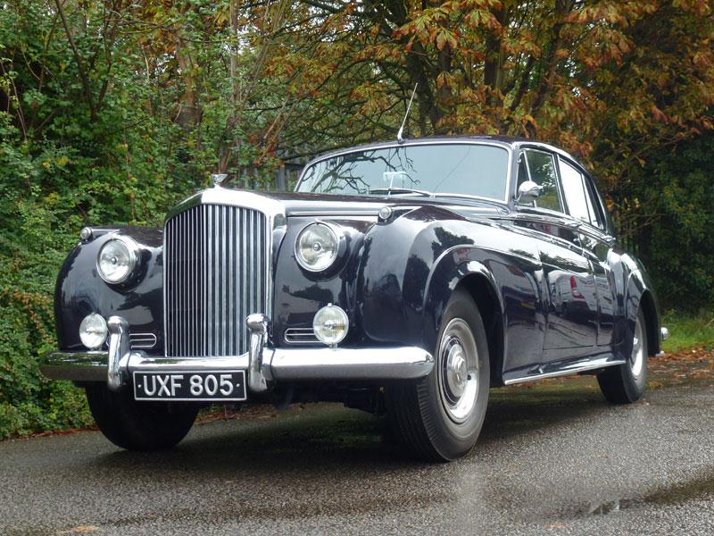 Lot 59-1956 Bentley S1 Saloon