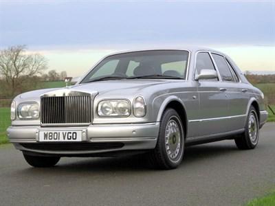 Lot 95-2000 Rolls-Royce Silver Seraph
