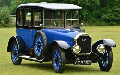 Lot 36 - 1920 Humber 15.9hp Saloon