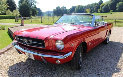Lot 105-1964 Ford Mustang Convertible