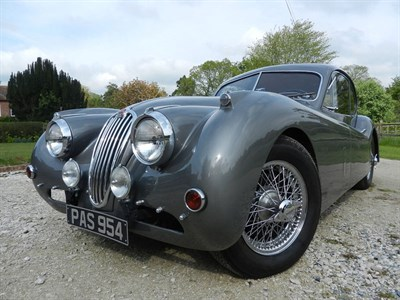 Lot 111-1955 Jaguar XK140 SE Fixed Head Coupe