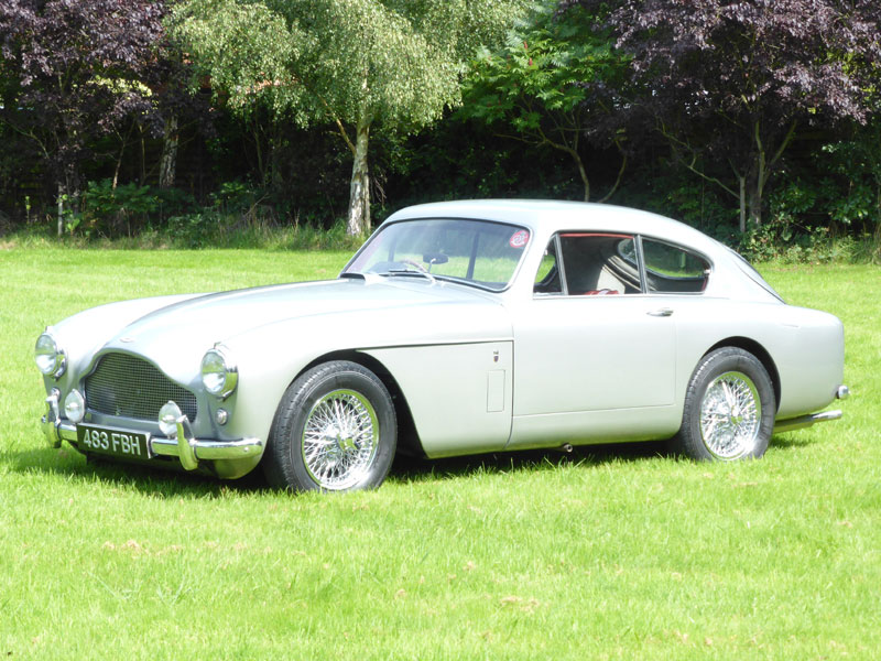 Lot 44-1958 Aston Martin DB MK III Saloon
