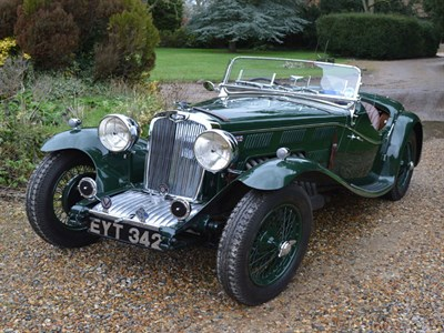 Lot 76-1938 Triumph Dolomite Straight Eight Evocation