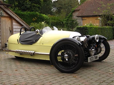 Lot 101-2013 Morgan Three Wheeler