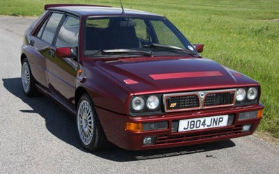 Lot 107-1992 Lancia Delta HF Integrale Evolution