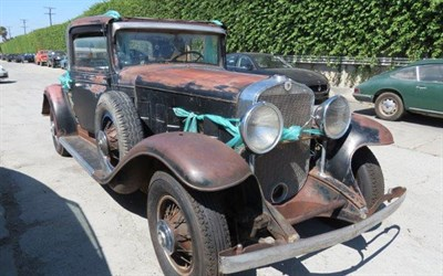 Lot 64-1931 Cadillac 370-A V12 Coupe
