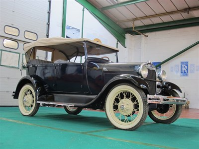 Lot 73-1928 Ford Model A Phaeton