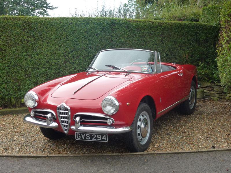Lot 122 - 1960 Alfa Romeo Giulietta Spider