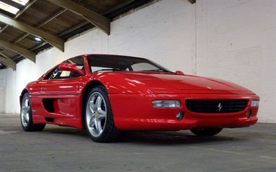 Lot 106-1995 Ferrari F355 Berlinetta