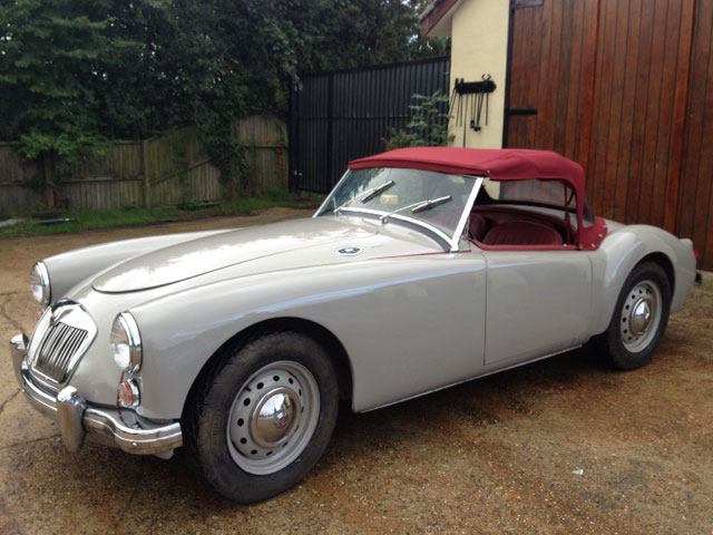 Lot 74-1959 MG A 1600 Roadster
