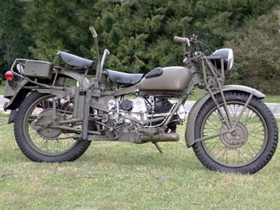 Lot 70-1946 Moto Guzzi Superalce Military