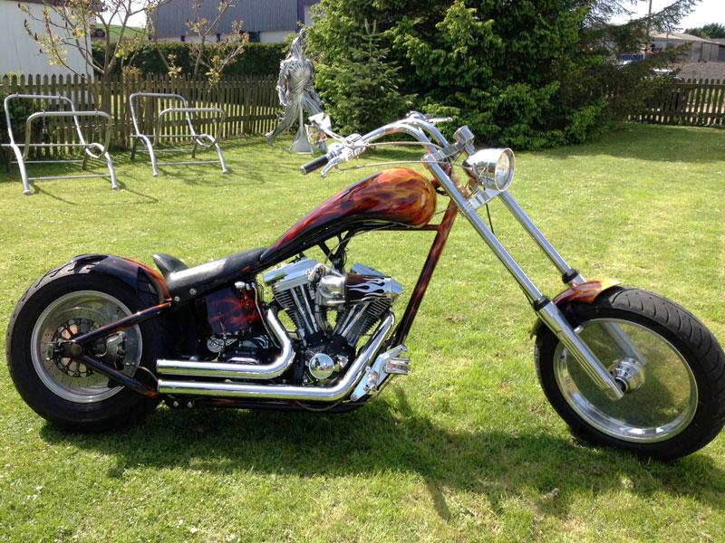 Lot 28-1993 Harley Davidson Zodiac North Sea Chopper